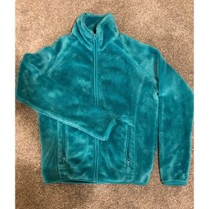 Forever 21 Teal Zip-Up